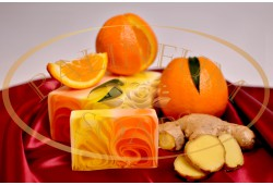 Handmade soap - ORANGE & GINGER